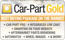 The Car-Part Gold Package: Messaging, Search Notification, Enhancements and MORE!
